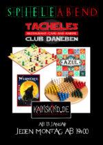 Spielzeit im Tacheles mit Kainskind